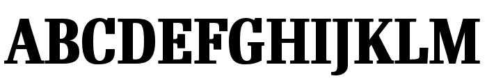 RePublic Condensed Bold Font UPPERCASE
