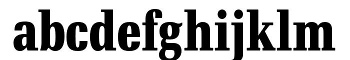 RePublic Condensed Bold Font LOWERCASE