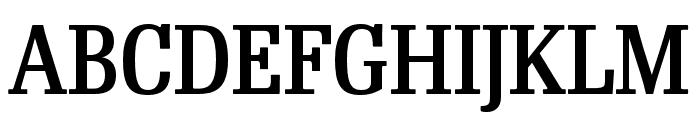 RePublic Condensed Medium Font UPPERCASE