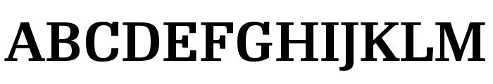 RePublic Condensed SemiBold Font UPPERCASE