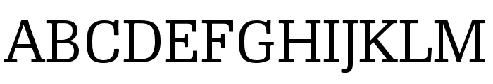 RePublic Condensed Font UPPERCASE