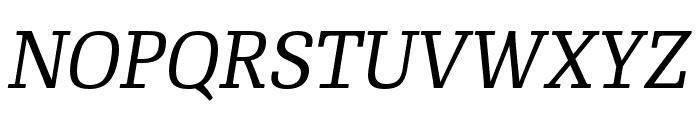 RePublic Italic Font UPPERCASE