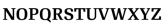 RePublic SemiBold Font UPPERCASE