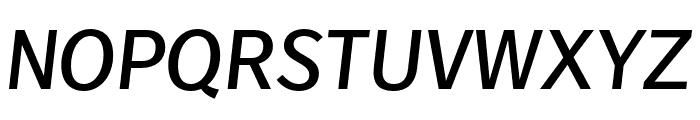 Real Head Pro Semilight Italic Font UPPERCASE