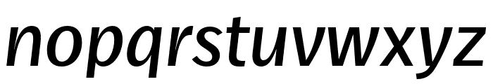 Real Head Pro Semilight Italic Font LOWERCASE
