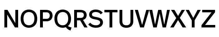 Real Head Pro Semilight Font UPPERCASE
