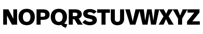 Real Text Pro Black Italic Font UPPERCASE