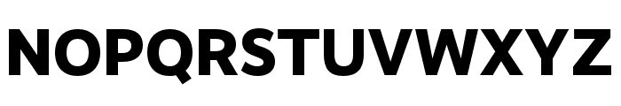 RealistNarrow ExtraBold Font UPPERCASE