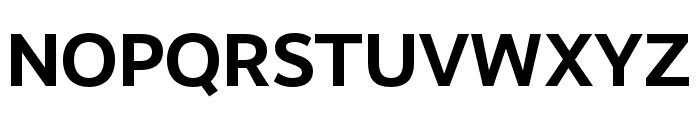RealistWide Bold Font UPPERCASE