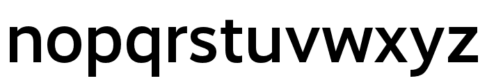 RealistWide Medium Font LOWERCASE