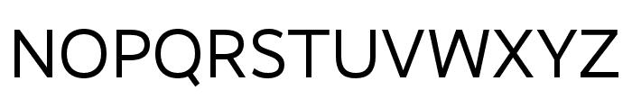 RealistWide Regular Font UPPERCASE