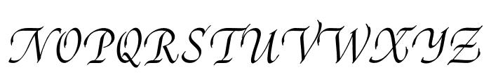Reed Medium Font UPPERCASE