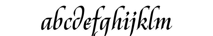 Reed Medium Font LOWERCASE