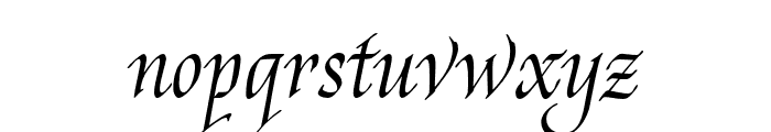 Reed Stencil Font LOWERCASE