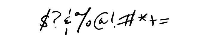 Reenie Beanie Regular Font OTHER CHARS
