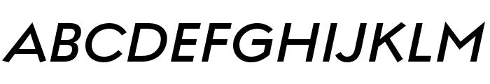 Regulator Nova Demi Bold Italic Font UPPERCASE