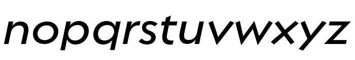 Regulator Nova Demi Bold Italic Font LOWERCASE