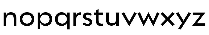 Regulator Nova Demi Bold Font LOWERCASE