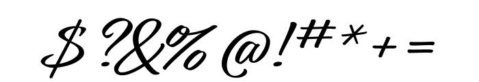 Relation Regular Font OTHER CHARS