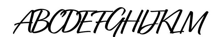 Relation Regular Font UPPERCASE