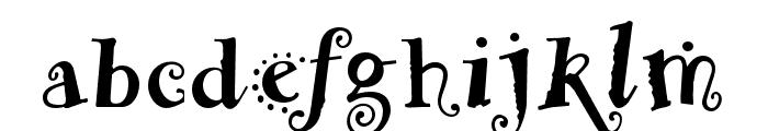 Remedy OT Double Font LOWERCASE