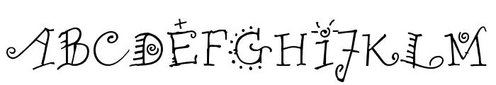 Remedy OT Single Font UPPERCASE