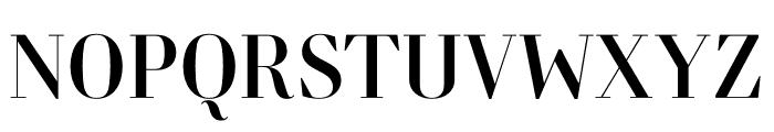 Retiro Std Regular 24pt Font UPPERCASE