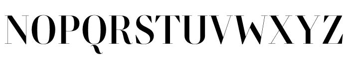 Retiro Std Regular 64pt Font UPPERCASE
