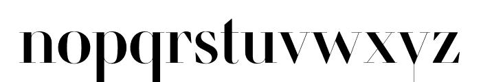 Retiro Std Regular 64pt Font LOWERCASE