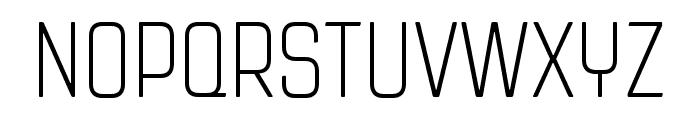 Revolution Gothic ExtraLight Font UPPERCASE