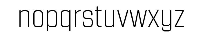 Revolution Gothic ExtraLight Font LOWERCASE