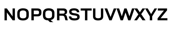 Rhode MediumWide Font UPPERCASE