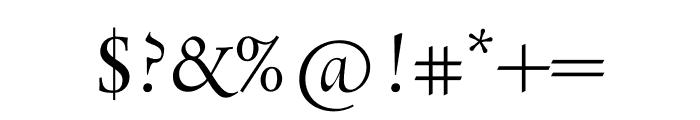 Rialto Piccolo dF Regular Font OTHER CHARS