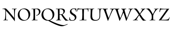Rialto Piccolo dF Regular Font UPPERCASE