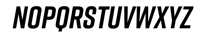 Rift Bold Italic Font UPPERCASE