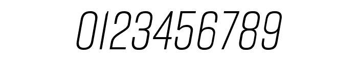 Rift Light Italic Font OTHER CHARS