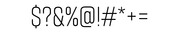 Rift Soft Light Font OTHER CHARS