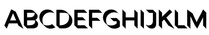 Rig Shaded Zero Shading Coarse Font LOWERCASE