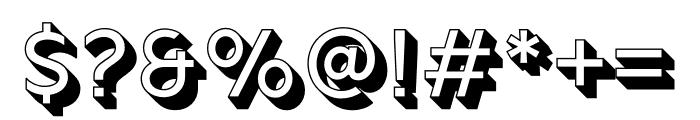 Rig Solid Medium Outline Font OTHER CHARS