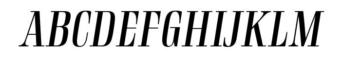 Rigatoni Regular Italic Font UPPERCASE