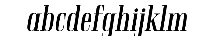 Rigatoni Regular Italic Font LOWERCASE