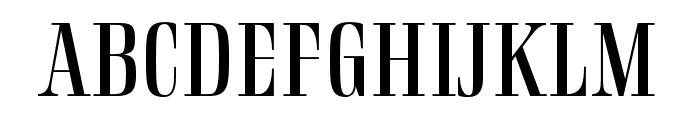 Rigatoni Regular Font UPPERCASE