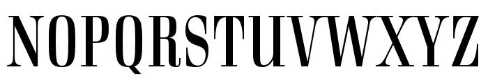 Rigatoni Stencil Regular Font UPPERCASE