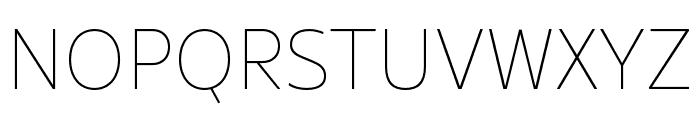 Rival Sans Narrow Black italic Font UPPERCASE