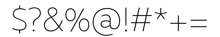 Rival Sans Narrow Light italic Font OTHER CHARS
