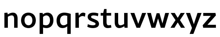 Rival Sans Narrow Medium Font LOWERCASE