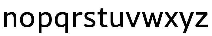 Rival Sans Narrow Regular Font LOWERCASE