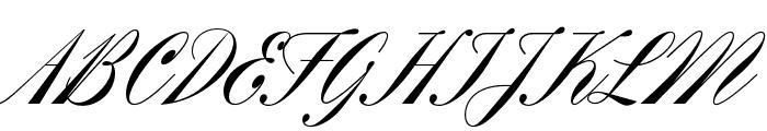 Rizado Script Regular Font UPPERCASE
