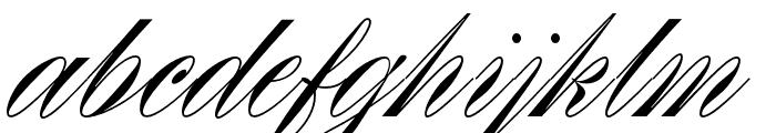 Rizado Script Regular Font LOWERCASE