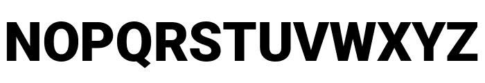 Roboto Black Font UPPERCASE